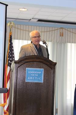 "File  ""There are between 40-160B barrels of 'technically recoverable' conventional oil North of the Arctic Circle; most offshore & most in less than 500m of water.""  Dr. Donald Gautier, U.S. Geological Survey"