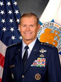 File U.S. TRANSCOM Commanding General William Fraser III