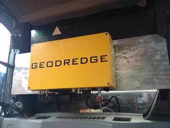 File GeoDredge installed in the back of an excavator. (Photo: CT Systems)