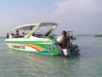 File Typical Pattaya Speedboat: Photo credit Wiki CCL