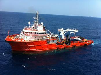File BOS-operated DP2 ROV Support Vessel, the Bibby Spring
