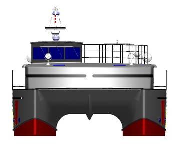 File purpose-designed anti-piracy personal escort vessel (PEV).