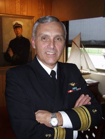 File Rear Admiral Richard Gurnon, USMS, is the President of the Massachusetts Maritime Academy.