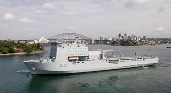 File HMAS Choules (Photo: Royal Australian Navy)