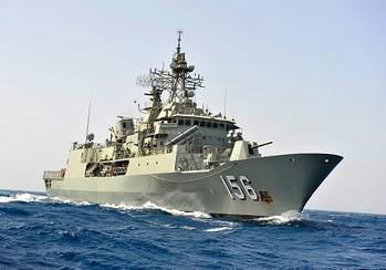 File HMAS Toowoomba (Photo: Royal Australian Navy)