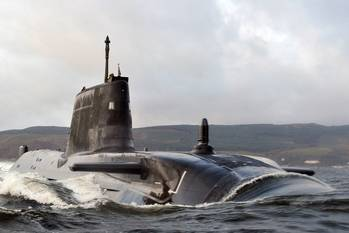 File HMS Astute: Photo credit MOD