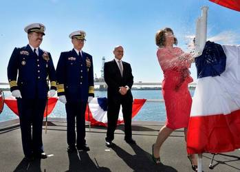 File Hamilton Christening: Photo courtesy of HII