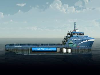 File Harvey Gulf LNG fueled OSV: Photo Wärtsilä