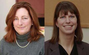 File Libby Signell (left) and Julie Ferland