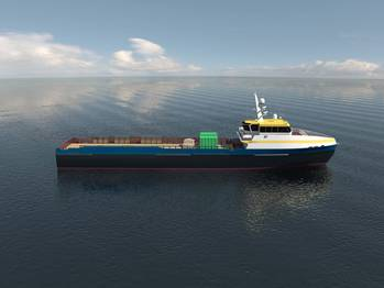 File Incat Crowther will design a fleet of 12 fast supply vessels (Photo: Incat Crowther).