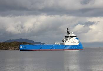 File Blue Guardian on her way to sea trials earlier this week (Photo: Ulstein)