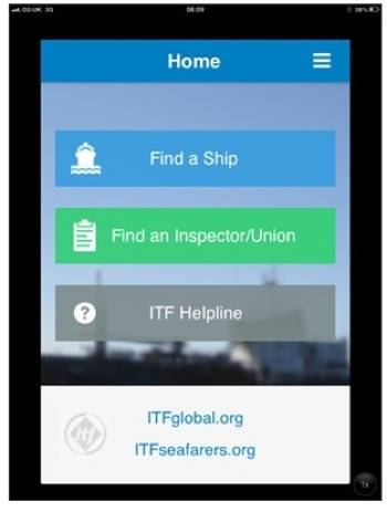 File ITF App: Image credit ITF