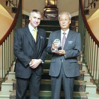 File UKHO CEO & Dr. Nishida: Photo credit UKHO