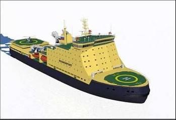 File Russian Icebreaker: Image credit Petrobalt