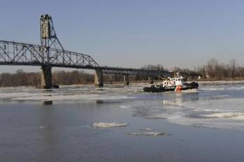 File Iced-up Delaware River: Photo courtesy of USCG