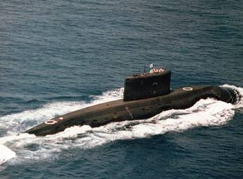 File K-class Iranian Navy Submarine: Photo credit CCL 2