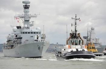 File HMS Iron Duke: Photo courtesy of MOD