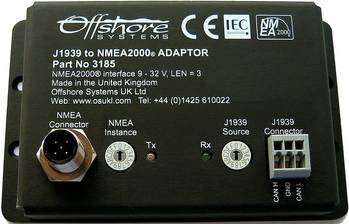 File Offshore Systems J1939 to NMEA2000 Adaptor