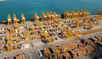 File Jebel Ali Port: Photo credit DP World