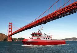 """File Depiction: Jensen Design Custom """"Super Pumper"""" Fireboat"""