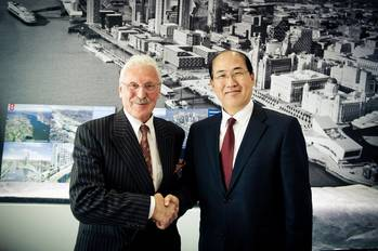 File John Whittaker and Lim Ki-track