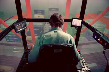 File Kongsberg to supply several K-Sim Lift Training Simulators for heavy lift port equipment.