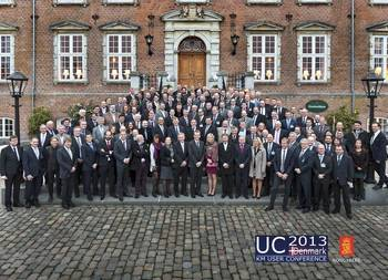 File 160 delegates from all over Europe joined UC2013.