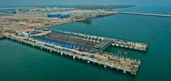 File Kattupalli Shipyard of L&T Shipbuilding. (Courtesy http://www.mhi.co.jp)