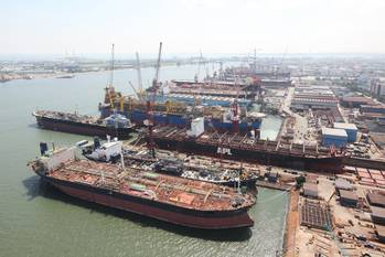 File Keppel Shipyard Singapore: Photo credit Keppel