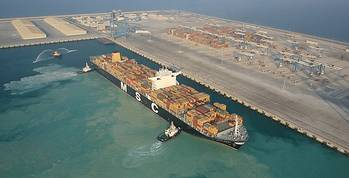 File Khalifa Port: Photo credit ADT