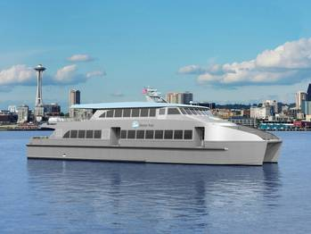 File Water Taxi rendering courtesy of King County Ferry District