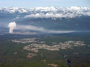 File Kitimat BC: Photo credit Wiki CC2 Sam Beebe / Ecotrust