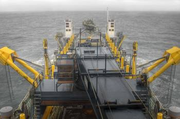 File A working vessel with numerous lubricating needs on deck (photo courtesy of Klüber)