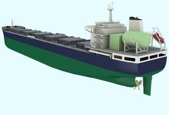 File 'Clean Sky' bulk carrier: Image credit LR