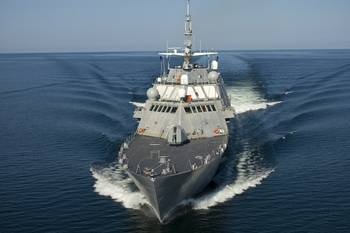 File The U.S. Navy's Littoral Combat Ship (Photo: Rolls-Royce).