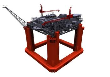 File LLOG Exploration Delta House Model: Image credit 2H Offshore
