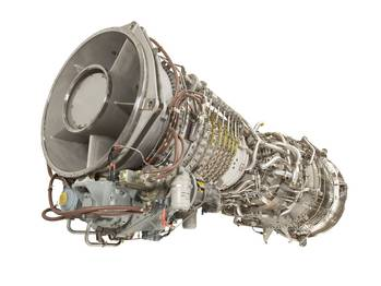 File A GE gas turbine (Photo: GE).