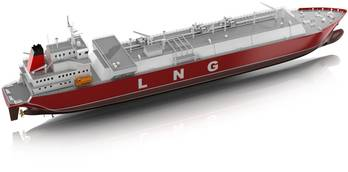 File LNG Carrier: Image courtesy of ABB