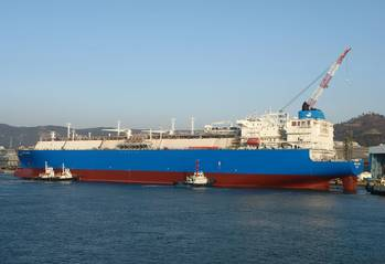 File LNG carrier credit Gazprom