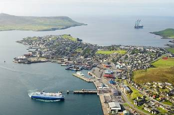 File Lerwick Harbour: Photo courtesy of Maritime UK