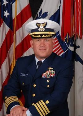 File Captain George Lesher, United States Coast Guard (Official USCG photo)