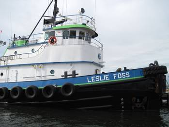 File Tugboat Leslie Foss: Photo credit Marcon International