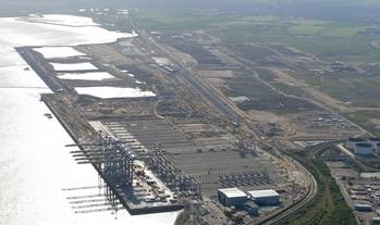 File London Gateway Terminal: Photo courtesy of DP World