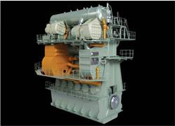 File Graphic of the second-generation EGR system (orange) integrated with its host engine