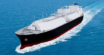 File LNG carrier rendering courtesy of MOL
