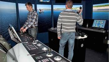 File Offshore Maritme Simulator: Photo credit Kongsberg Marilime