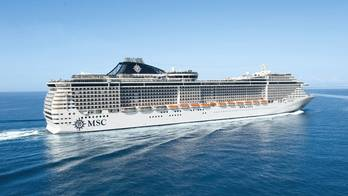 File MSC Cruise Ship (Credit:MSC Cruises)