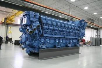 File MTU Series 8000 Engine: Photo credit Tognum MTU