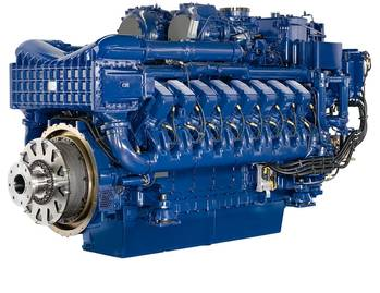 File The MTU Series 4000 long-stroke Ironmen engine is available with 8, 12 and 16 cylinders and covers power outputs from 700-2,240kW (940-3,000bhp). It is used in workboats, tugs, inland waterway vessels, ferries, and governmental vessels. The engine is currently being developed for compliance with US emission-stage EPA Tier 3 regulations, with outputs from 560-2,000kW (750-2,680bhp). EPA Tier 3 requirements will be met without the need for exhaust aftertreatment.