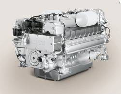 File Marine Engine MTU 2000: Photo credit: MTU